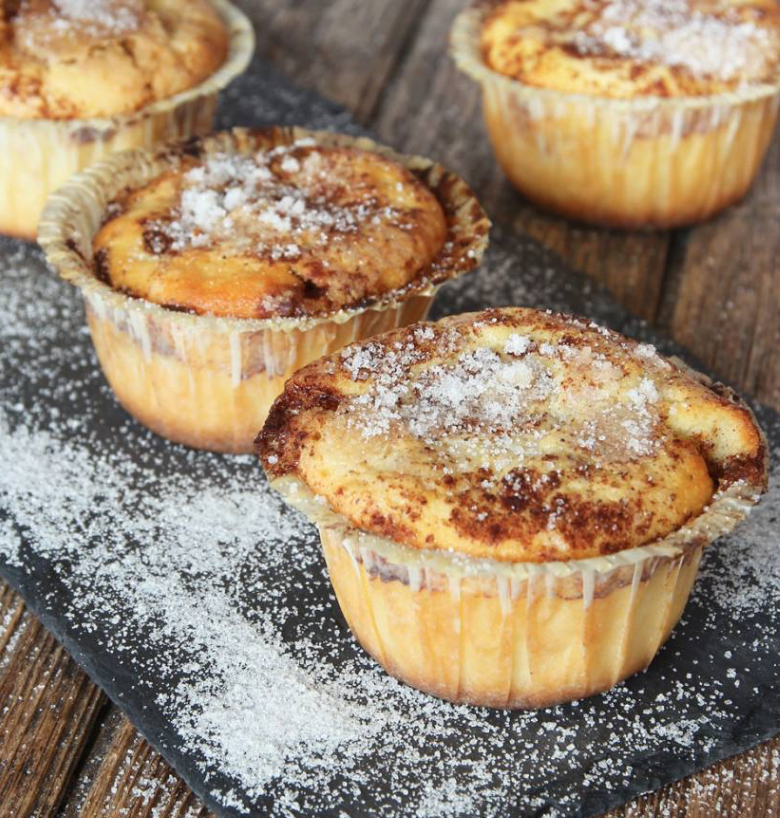 Supergoda kanelbullemuffins – klicka här för recept!