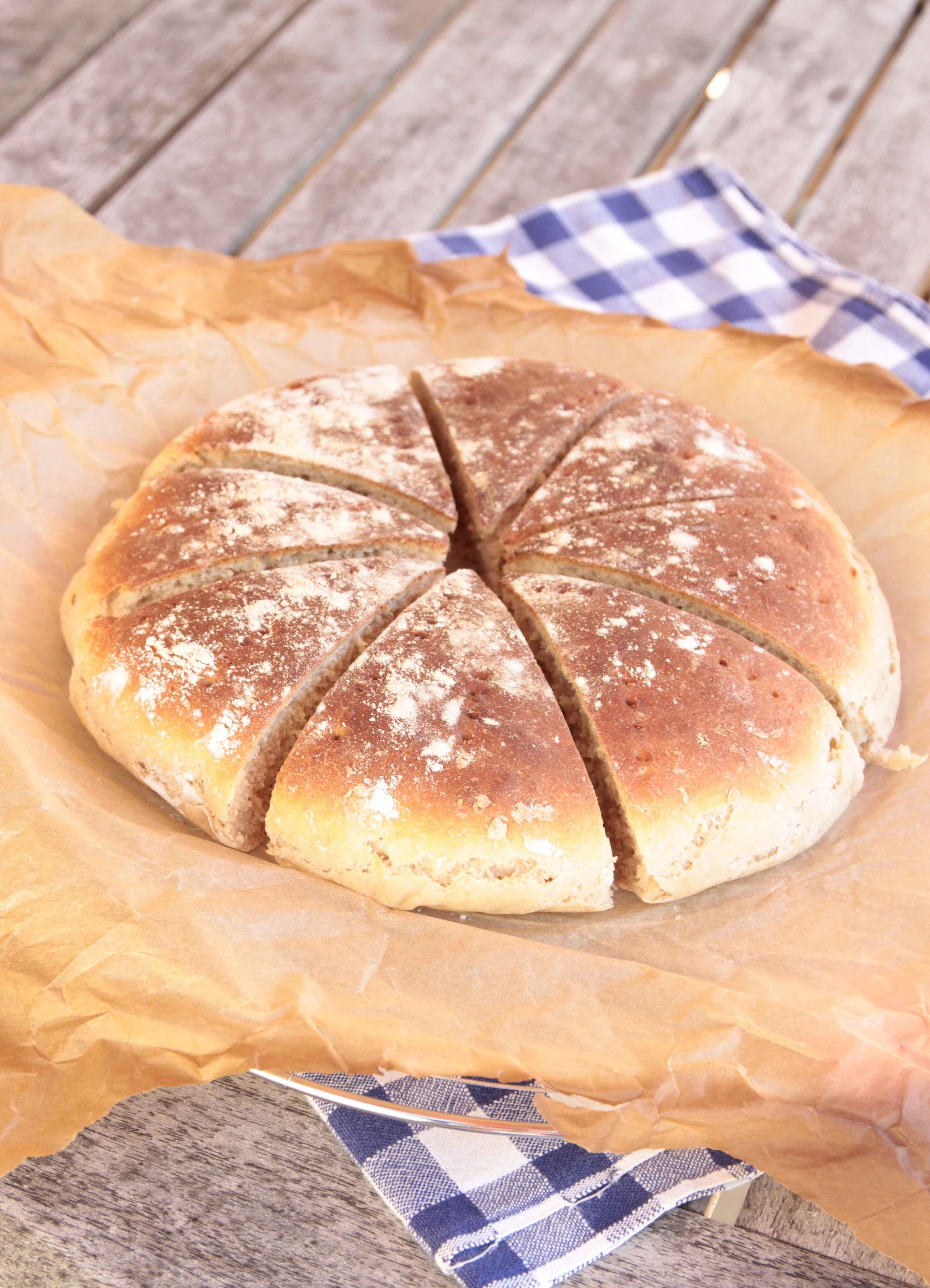 snabbt gott bröd