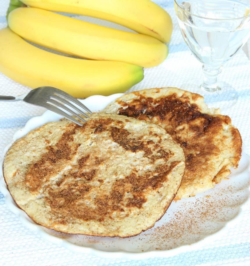 Nyttiga bananpannkakor med 2 ingredienser –klicka här för recept! Supergoda!
