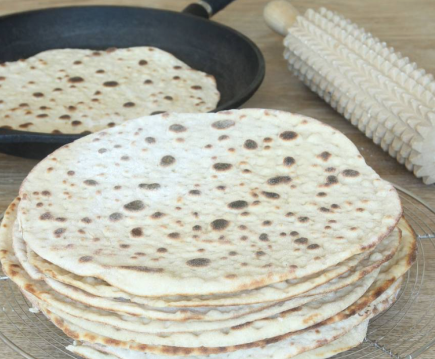 Baka ljuvligt gott tunnbröd –klicka här för recept!
