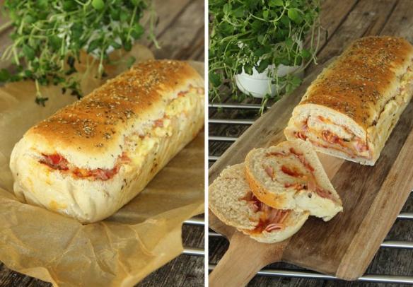 Baka en saftig & ljuvligt god pizzalimpa – klicka här för recept!