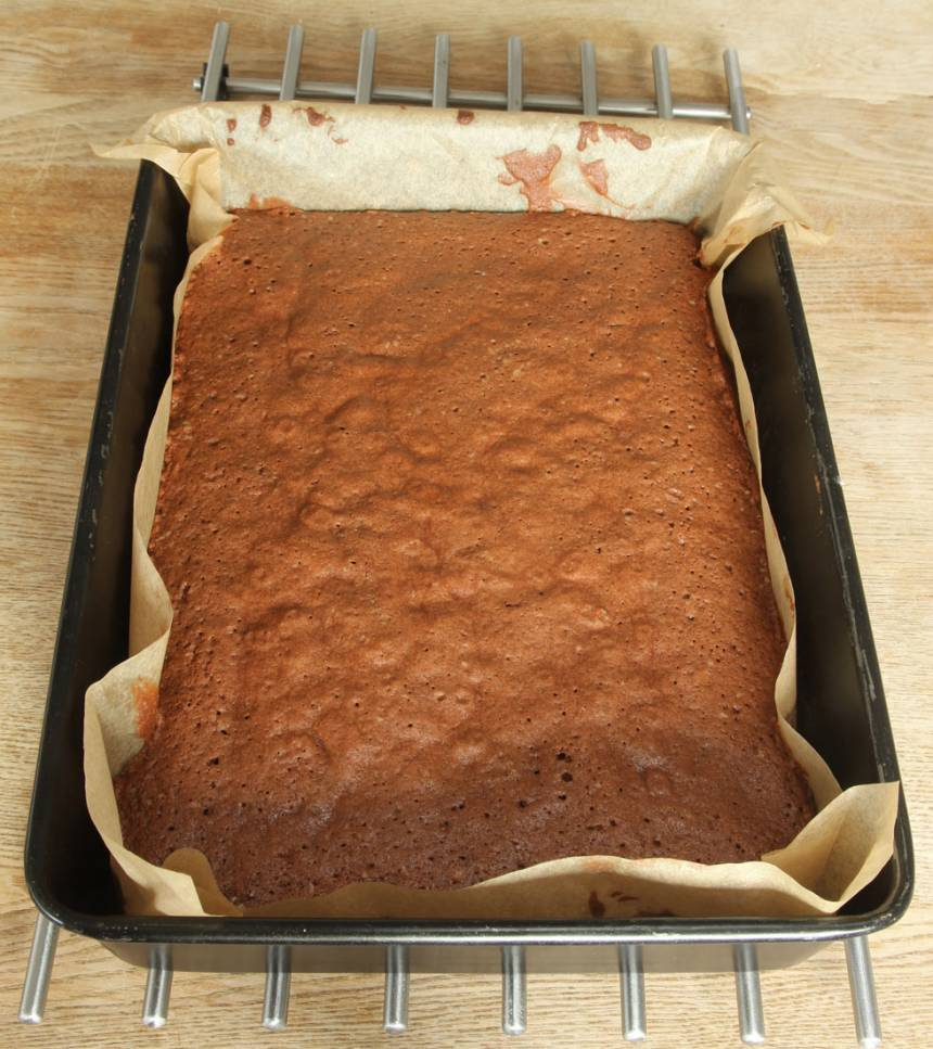 3. Grädda kakan mitt i ugnen i 25–30 min.