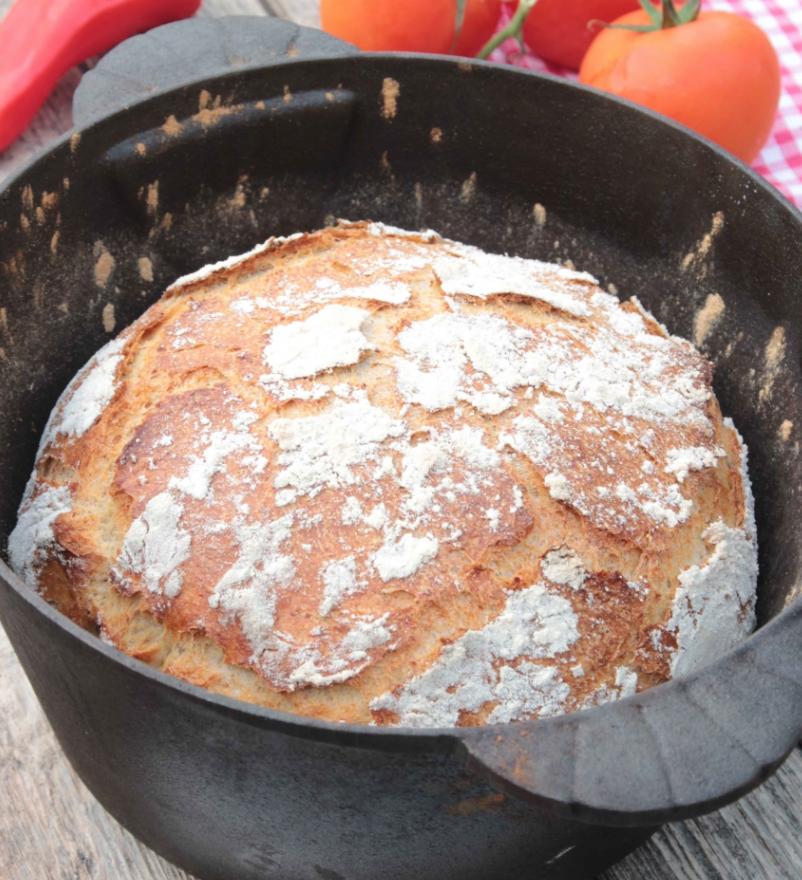 Baka ett lättgjort rustikt & gott grytbröd – klicka här för recept!