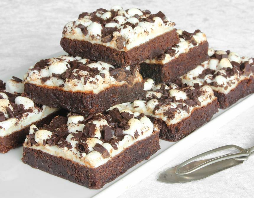 marshmallowsbrownies9