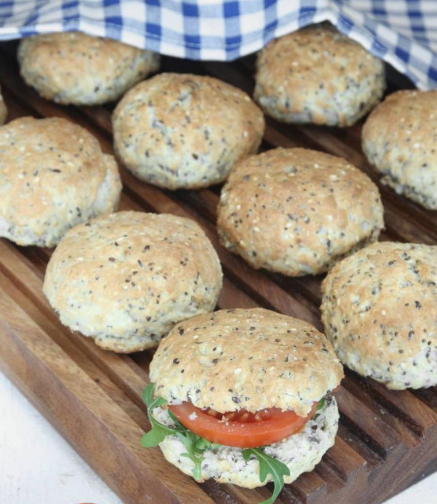 Baka goda snabba fröfrallor som inte behöver jäsa – klicka här för recept!