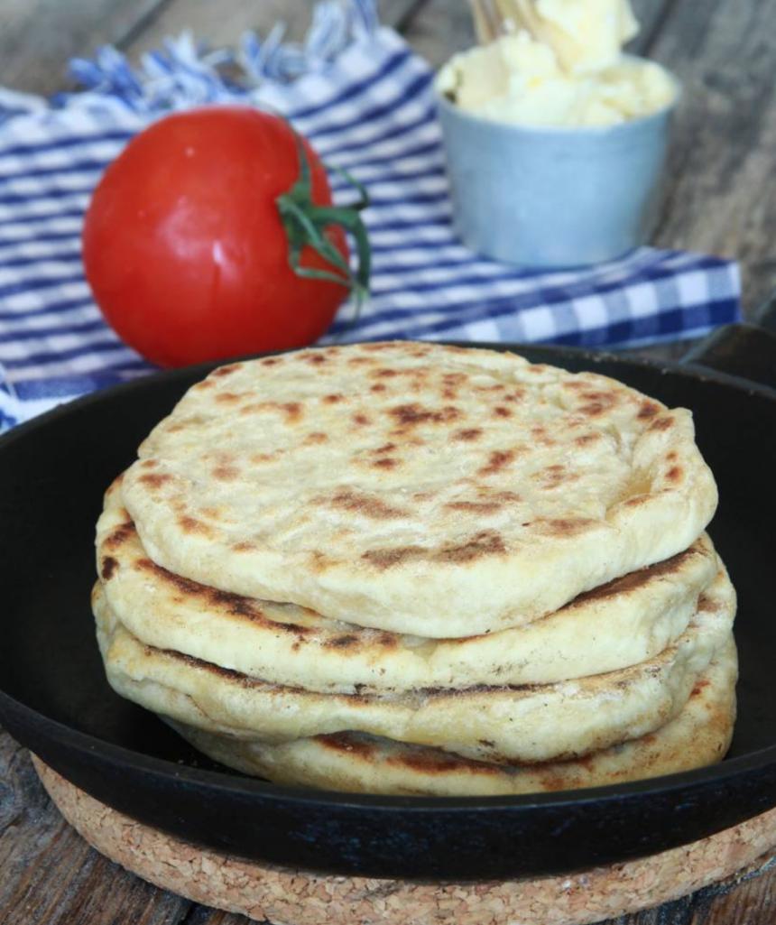 Baka ljuvligt goda 20-minutersbröd i stekpanna –klicka här för recept!