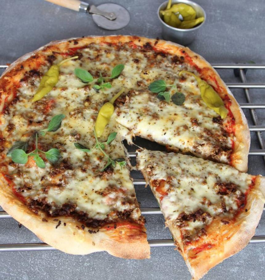 Baka en superläcker tacopizza –klicka här för recept!