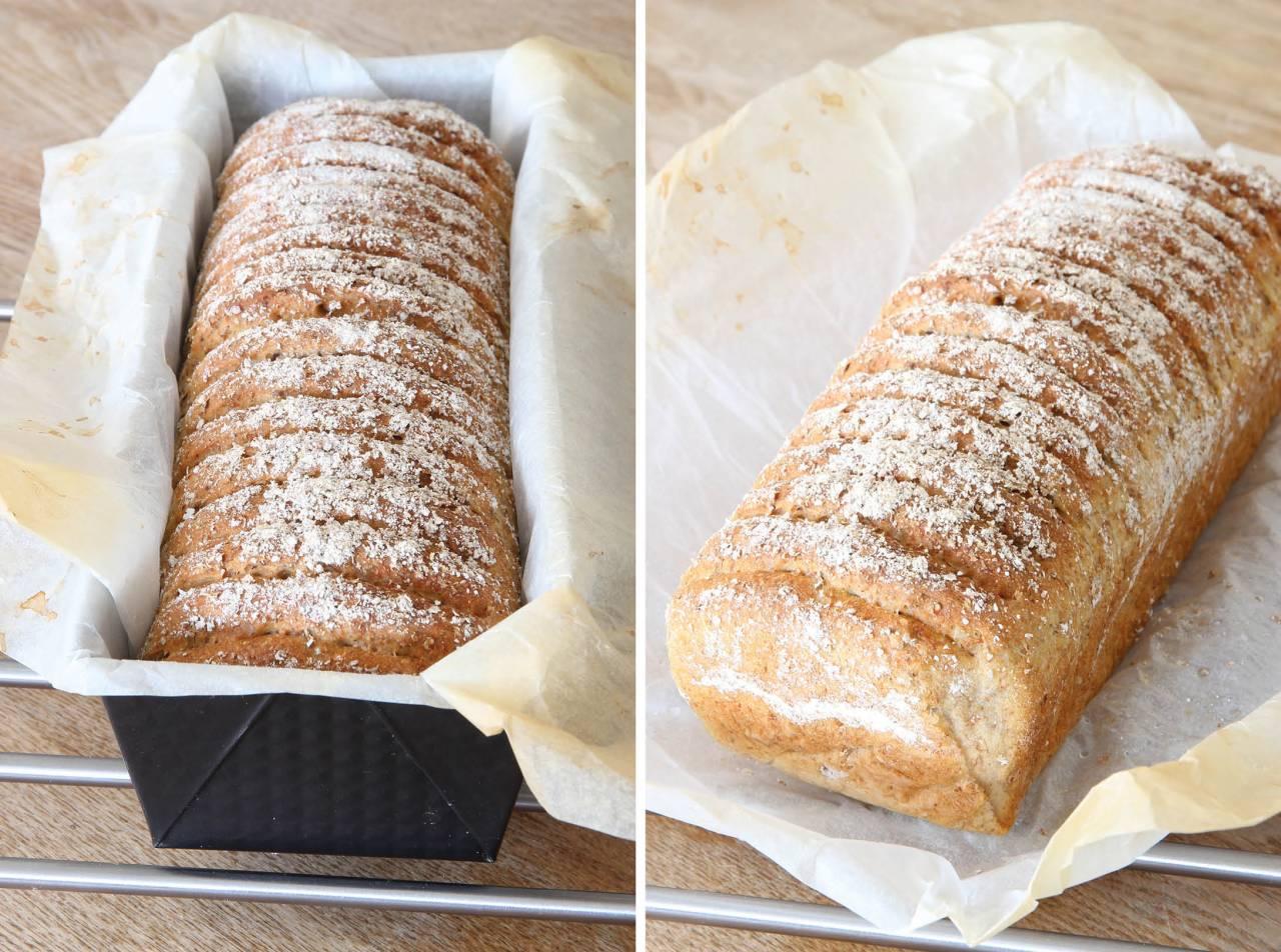 grädda bröd i form