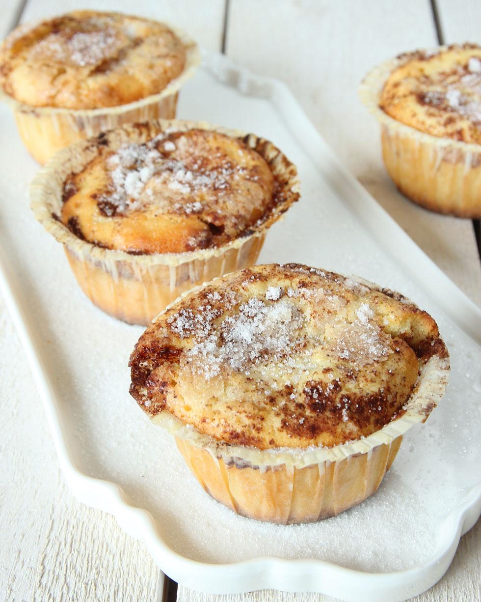 muffins med filmjölk