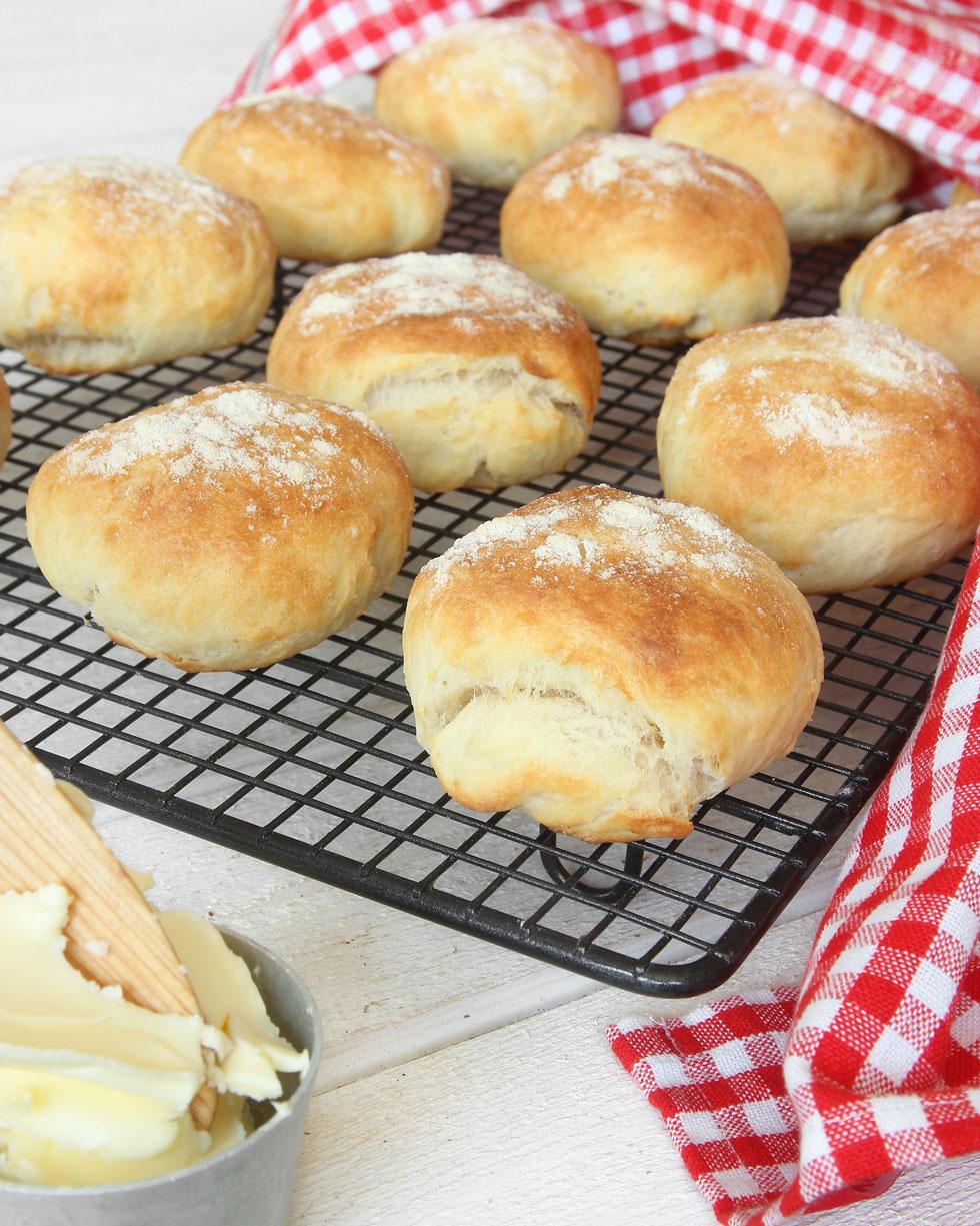 baka bröd med bikarbonat