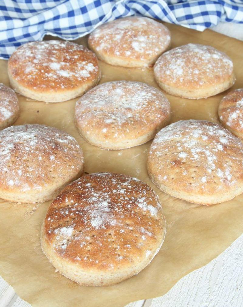 Baka supergoda, mjuka, fiberrika grahamstekakor – klicka här för recept!