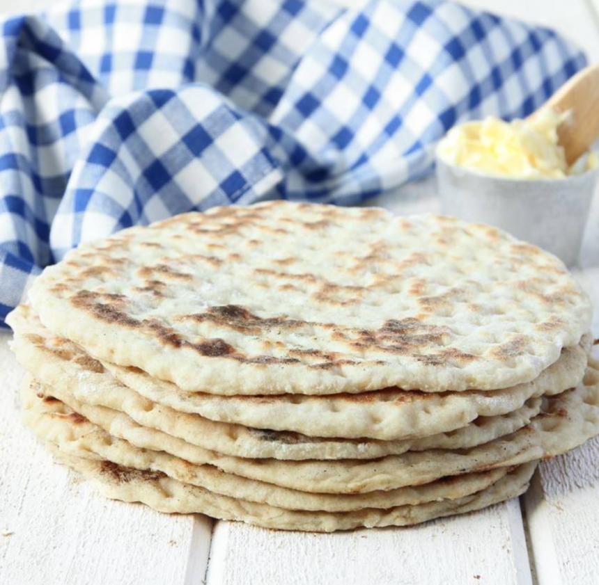 Baka ljuvligt goda 3-minutersbröd i stekpanna –klicka här för recept!