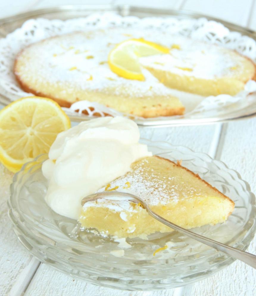 Magiskt god citronkladdkaka –klicka här för recept!
