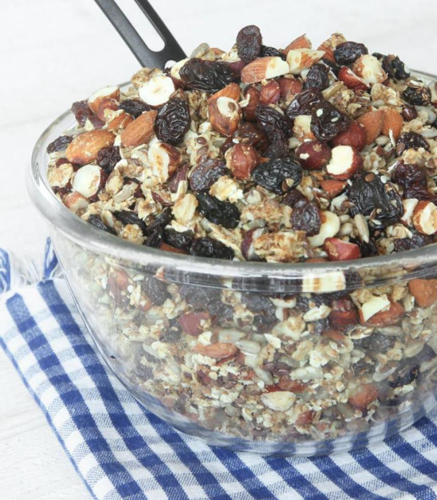Rostad, nyttig granola (müsli) – klicka här för recept!