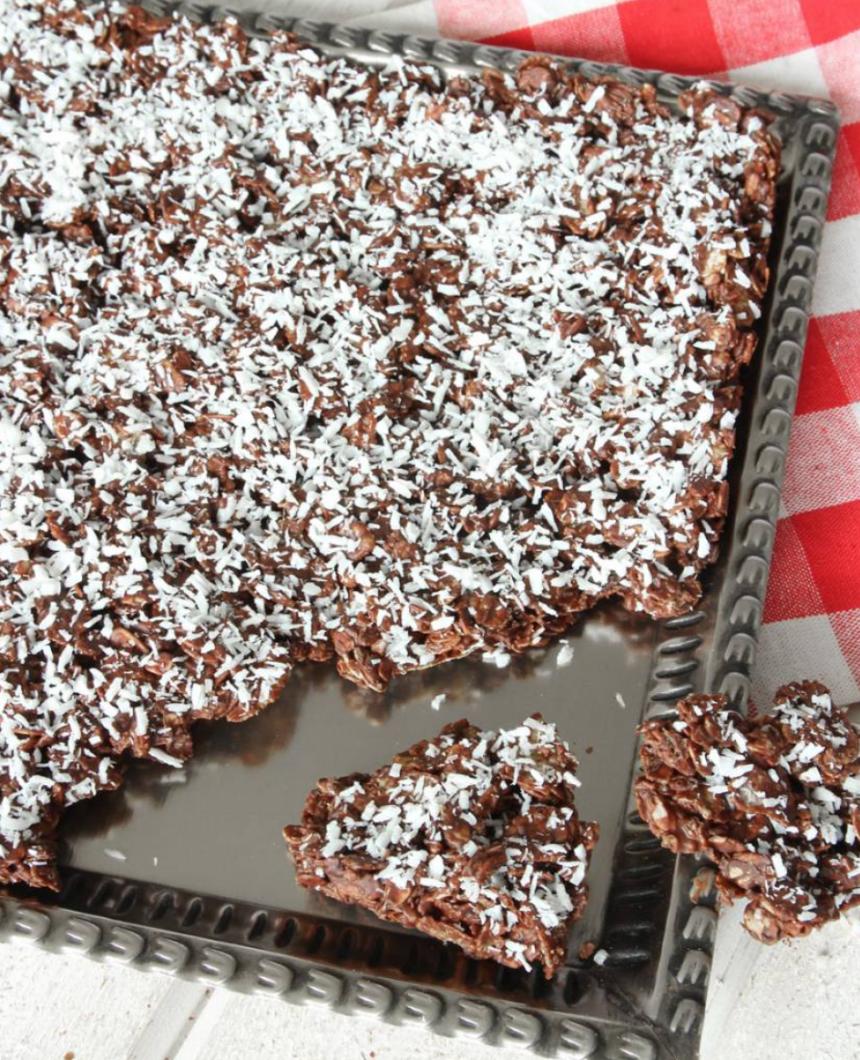 Nyttigt müslibräck – klicka här för länk till receptet!