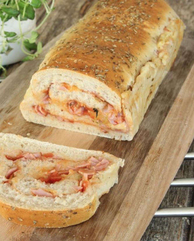 Ljuvligt god pizzalimpa – klicka här för recept!