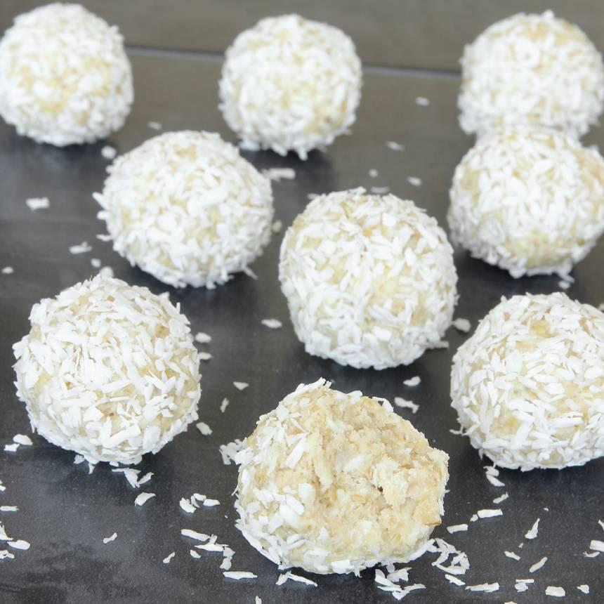 havrebollar med vit choklad