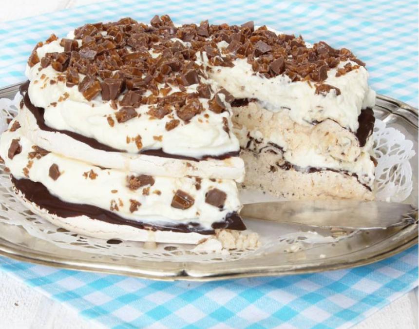 Ljuvlig god Daimmarängtårta –klicka här för recept!