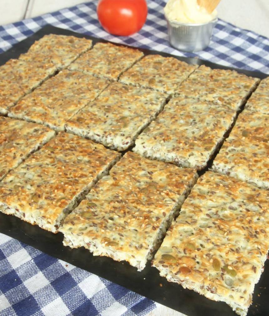 Kesobröd utan mjöl –mjuk härlig konsistens, supergott! Klicka här för recept