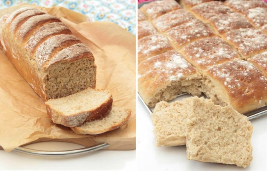 Baka läckert, härligt matbröd med jäst –klicka här för recept på dessa goda bröd!