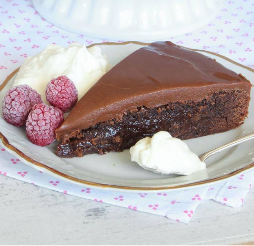 Drömgod kolatårta –klicka här för recept!
