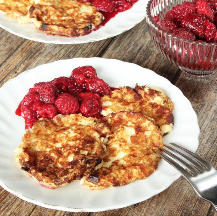 Nyttiga Kesoplättar utan mjöl –klicka här för recept!