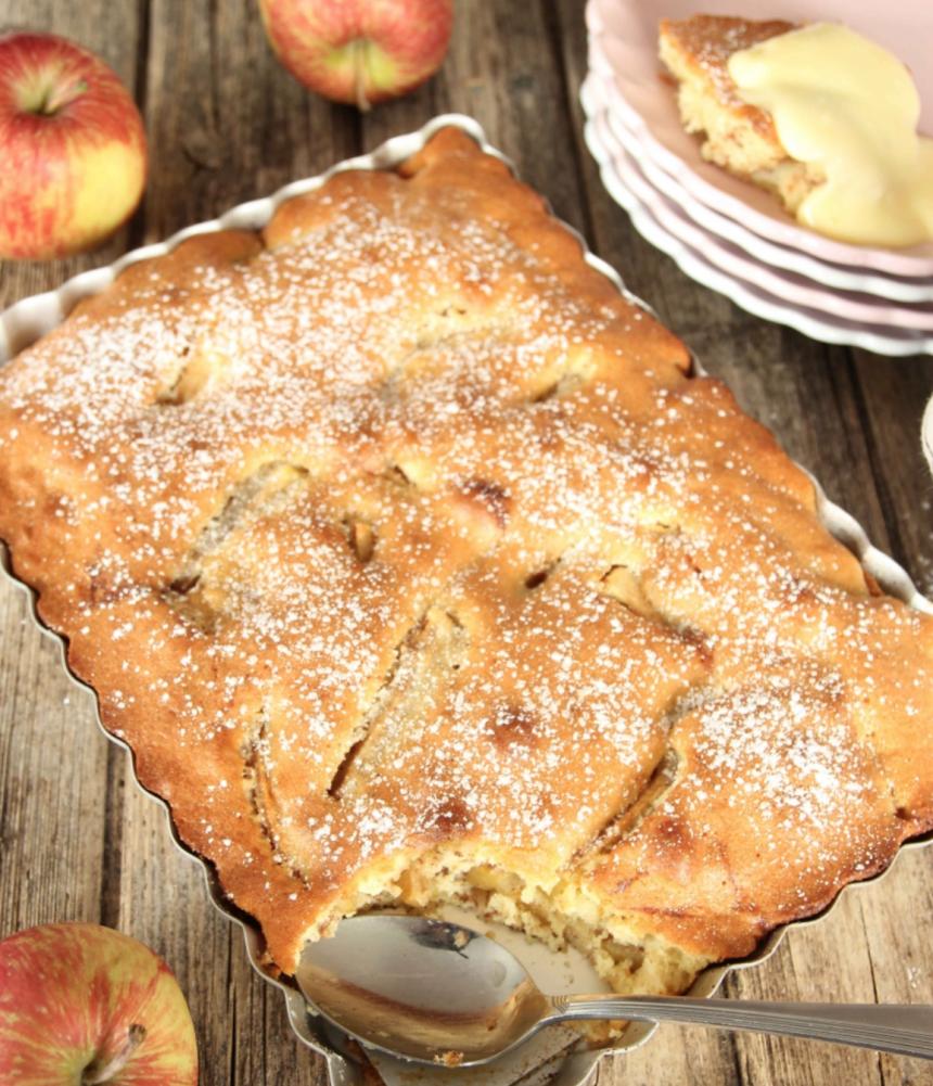 Snabb äppelkaka –supergod! Klicka här för recept!