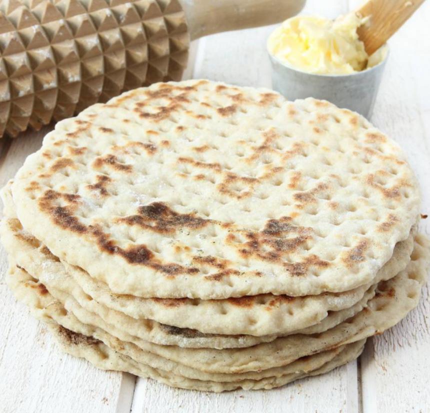 3-minuters tunnbröd –klicka här för recept!
