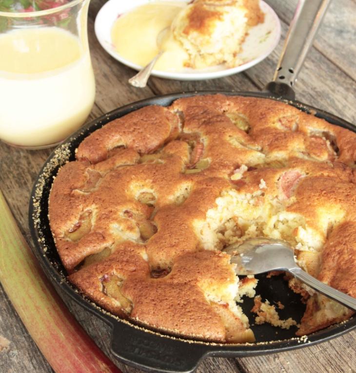 Saftig, härlig rabarberkakan –klicka här för recept!