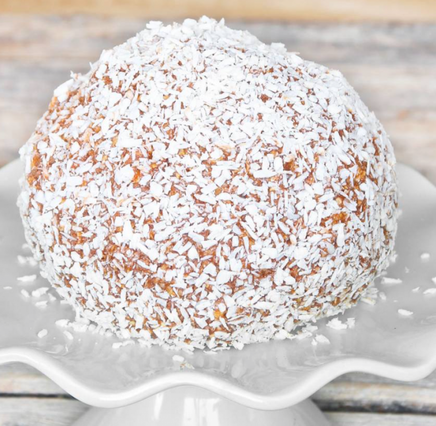 Superläcker megakokosboll –klicka här för recept!