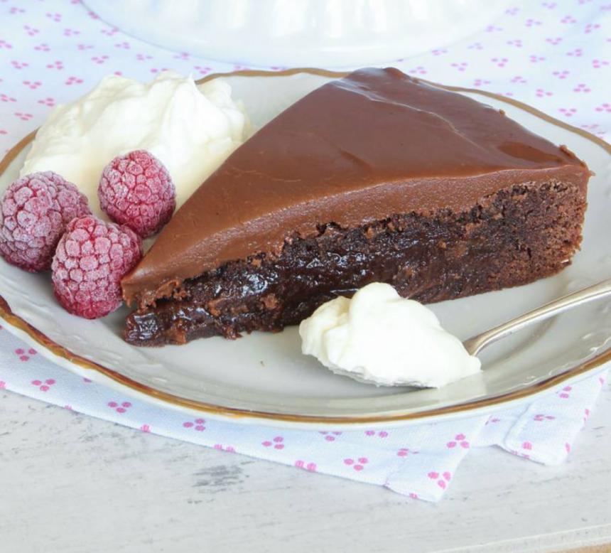 Underbar kolatårta –klicka här för recept!