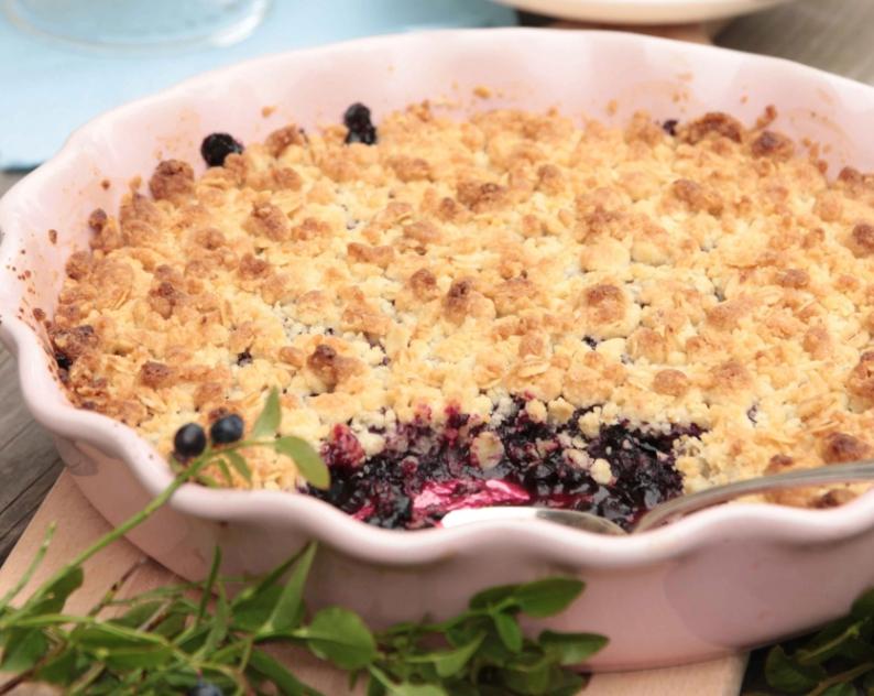 Smulig, superläcker blåbärspaj –klicka här för recept!