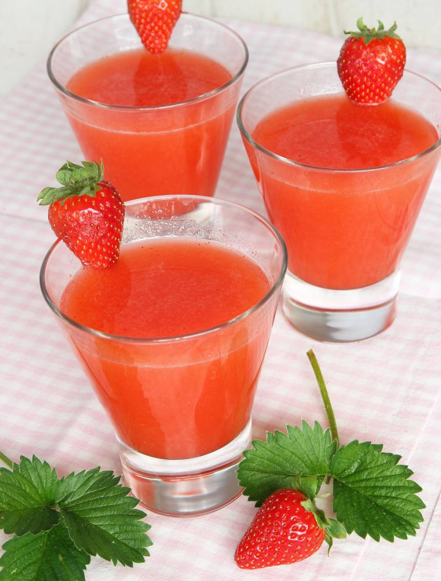 jordgubbslemonad