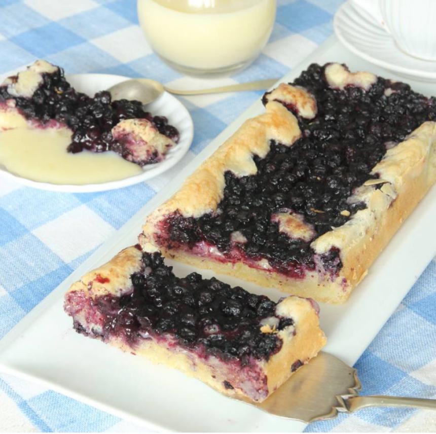 Segmjuk blåbärskaka som är enkel att göra –klicka till receptet här!