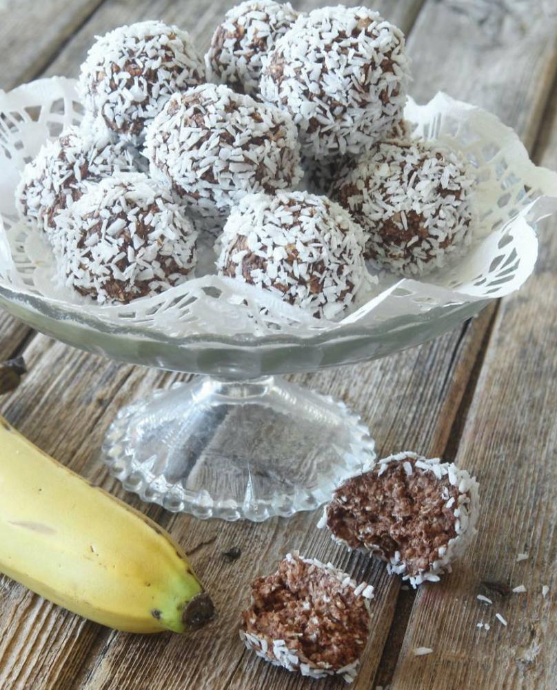 Bananchokaldbollar utan smör och socker! Recept – klicka här!