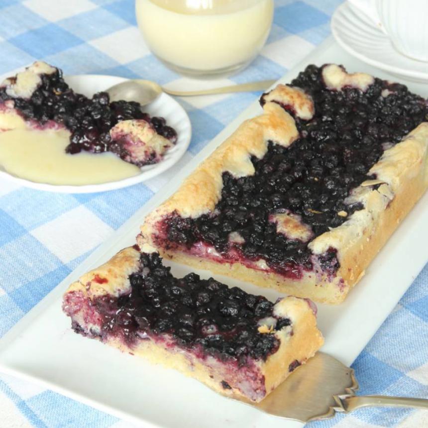Segmjuk blåbärskaka –klicka här för recept!