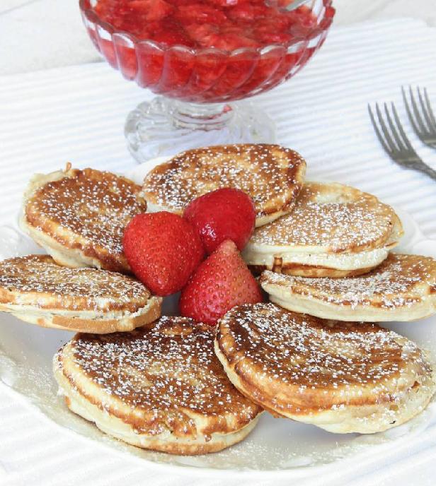 Ljuvligt goda krabbelurer med jordgubbsmos – klicka här för recept!