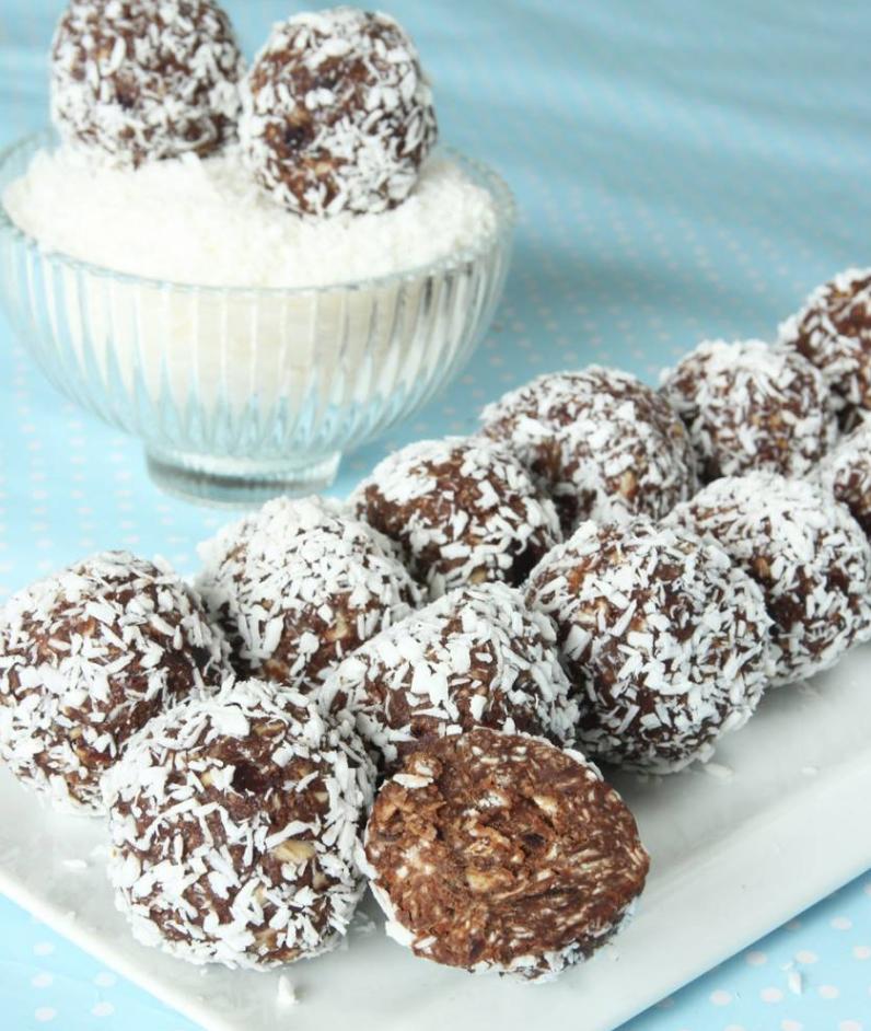 Nyttiga chokladbollar utan socker –klicka här för recept!