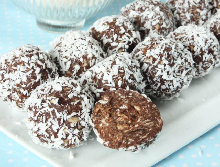 Sockerfria chokladbollar –klicka här för recept! Supergoda!!!