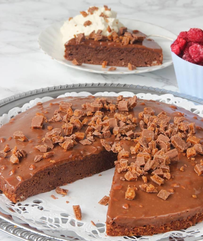 Enkel Daimtårta som är galet god –klicka här för recept!