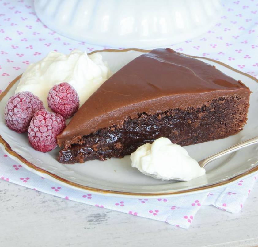 En fantastiskt god kolatårta –klicka här för recept!