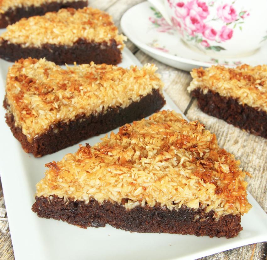 Baka en fantastiskt god kokostosca –klicka här eller på bilden för recept!