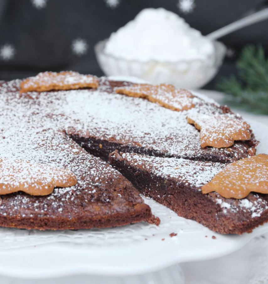 Ljuvligt god pepparkakskladdkaka –klicka här för recept!