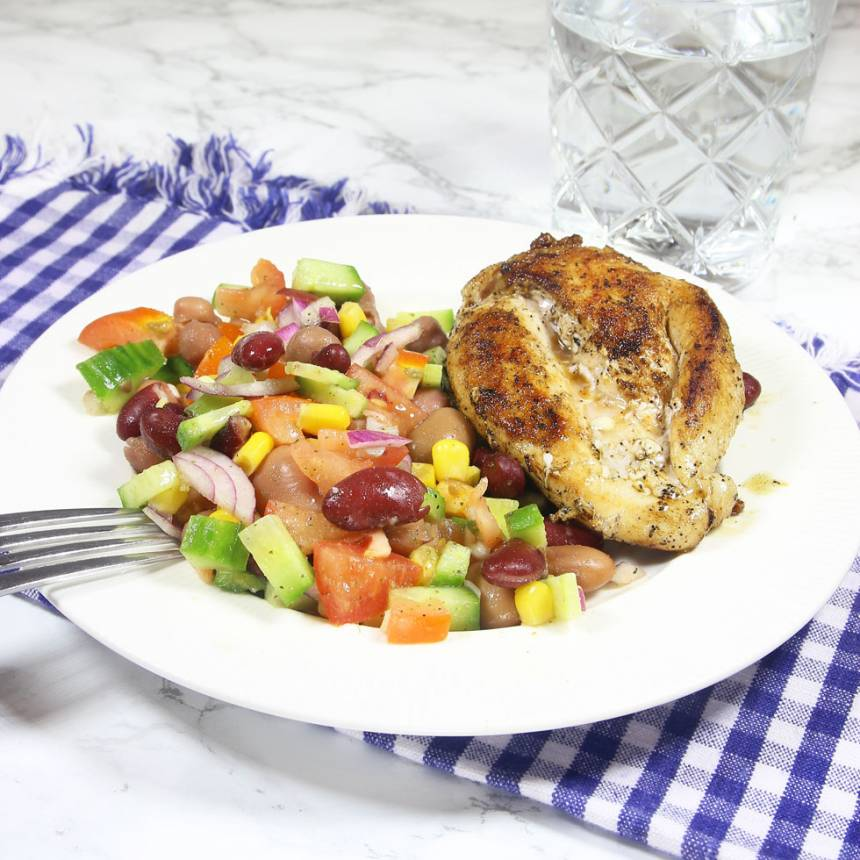 kycklingfilebönsallad1