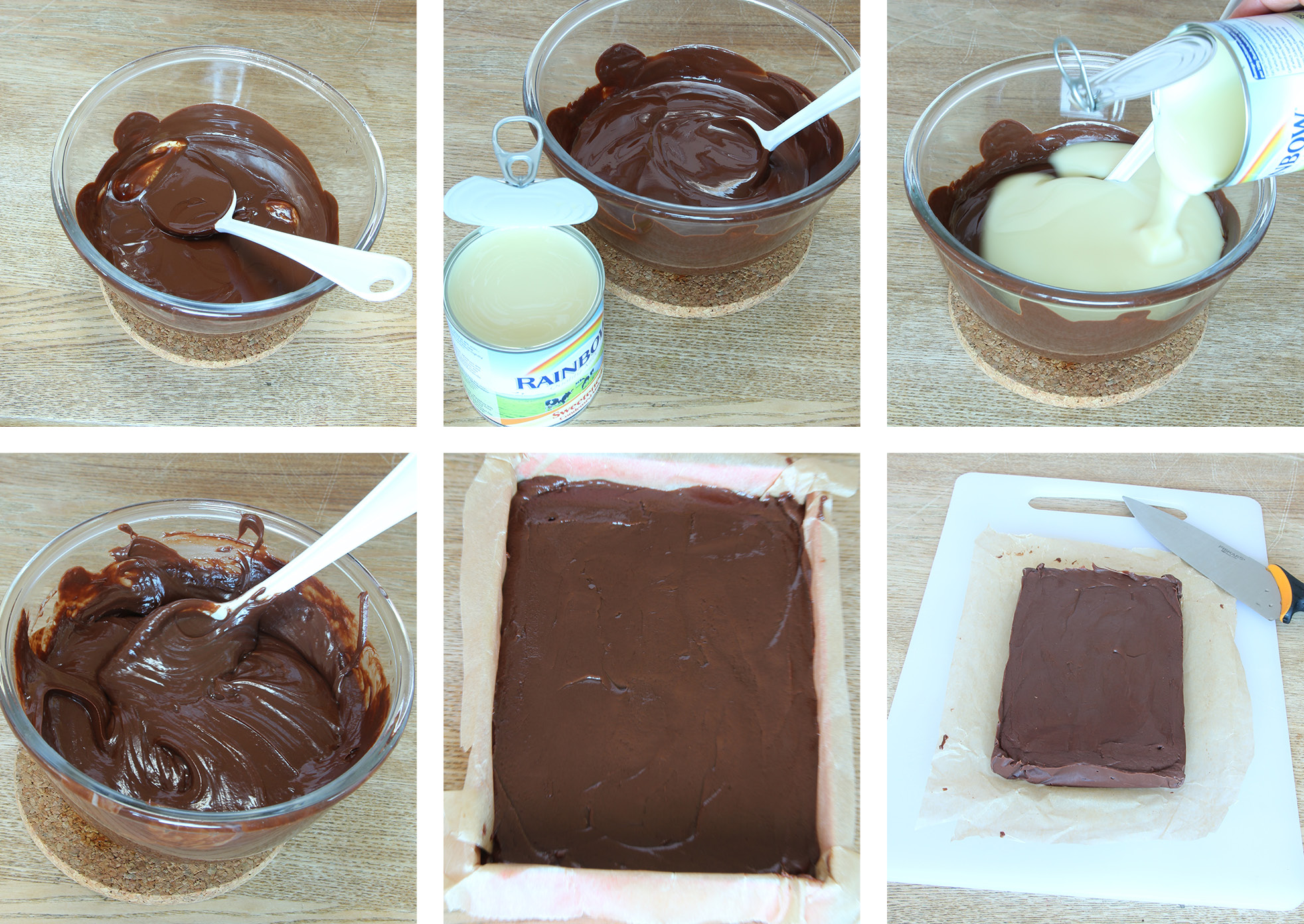 5-minuters fudge