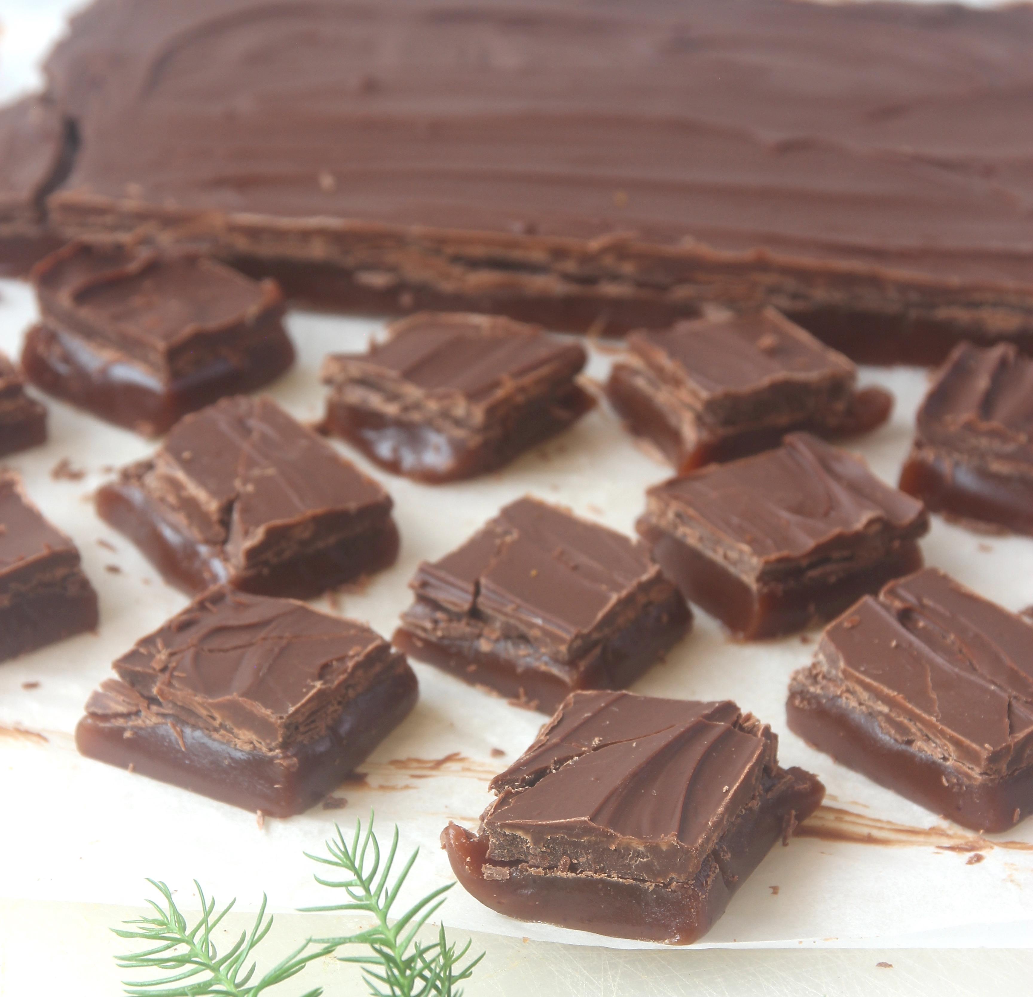 dubbel chokladkola